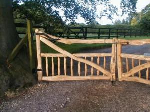 chestnut driveway gates