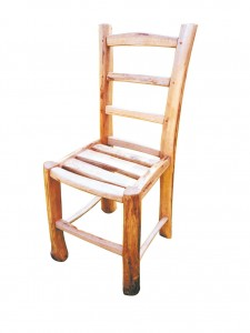 Chestnut dining chair