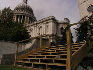 Oak steps to St Pauls