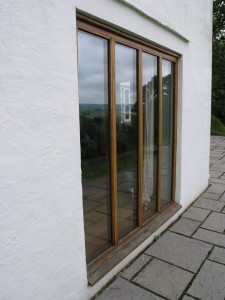 Chestnut french doors
