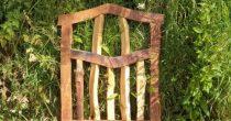 Oak & Chestnut Garden Gate