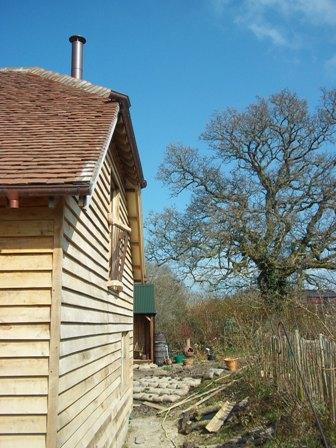 Oak Juliet Balcony 2