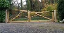 Forked Chestnut Entrance Gates
