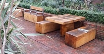 Solid oak Tables and Benches