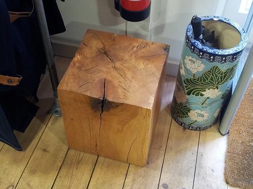 Ed Brooks Furniture Turkey oak block