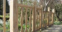 Oak & chestnut panels