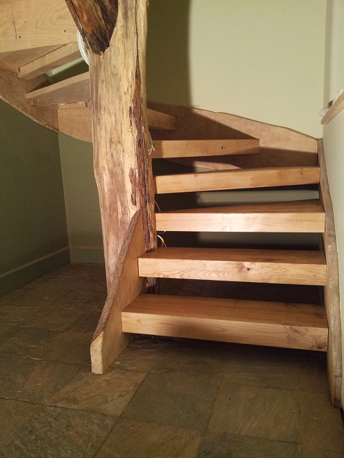 chestnut tree staircase 3