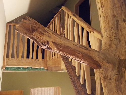sweet chestnut tree staircase 4