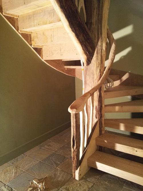 sweet chestnut tree staircase 5