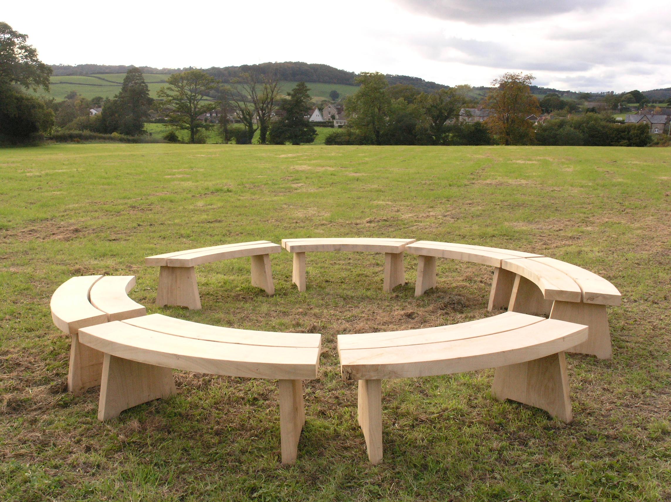 Circular Benches
