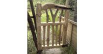Branch chestnut garden gate