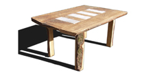 Chestnut & Limestone table