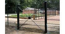 Rabbit proof steel gate