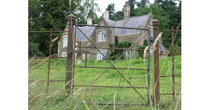 Refurb'd iron gate & posts