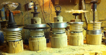 beech upcycled trophies