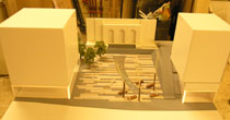 Cityscape scale model