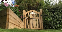 Oak and Chestnut Orchard gate