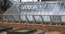 Painted coldframe