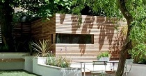 Cedar office garden room